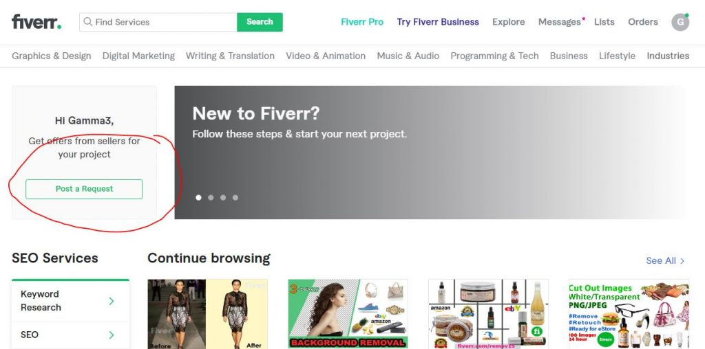 How to Hire An SEO Expert On Fiverr